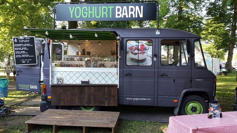 © Yoghurt Barn Truck