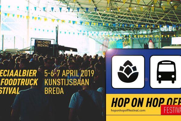 Hop On Hop Off Festival in Breda