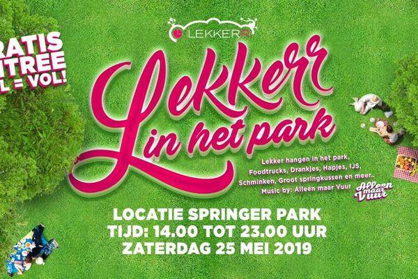 Lekkerr in het Park in Schoonhoven