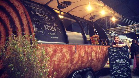 Barefoot Coffee truck